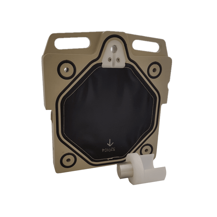 Zusatzplatte mit kurzem Bolzen für 5-te Kammer-MPRES-KFP5-ZP